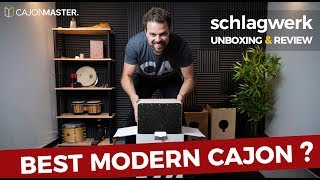 BEST MODERN CAJON? Schlagwerk Unboxing & Review