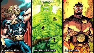 The Power of World Breaker Hulk , Rune King Thor & God Hercules (Part 4 of 4) GOD HERCULES