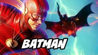 The Flash Every Batman Scene and Justice League DCTV Explained