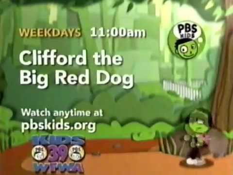 Clifford The Big Red Dog Pbs Promo