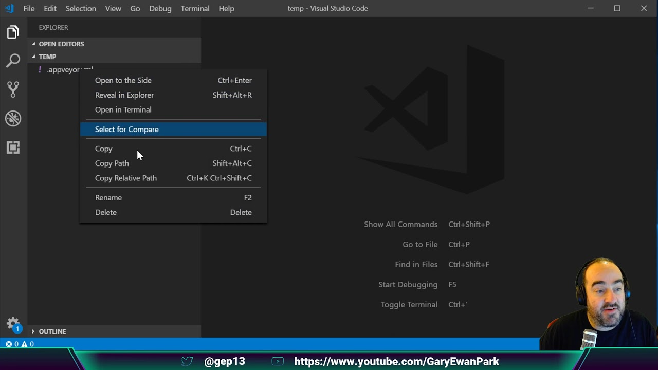 Gary Ewan Park - Introducing the CI/CD Assets Repository and VS Code