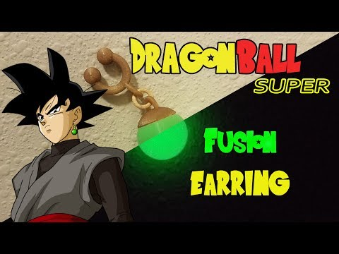 Dragonball Super Episode 47 English Dub: Goku Black's Fusion Earring (Glow in the Dark)
