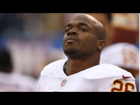 Redskins Adrian Peterson Says He Still Whoops His Kid, After Being Charged w/  Felony Child Abuse
