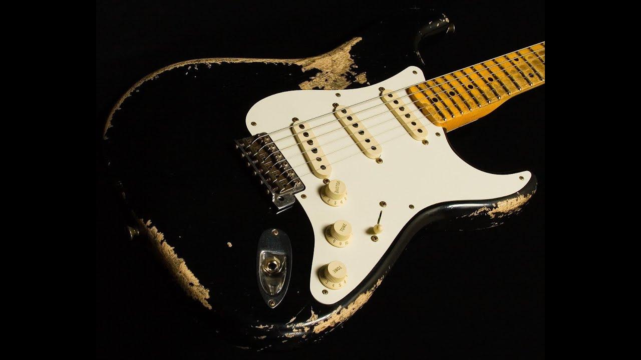 Black Guitar Paint