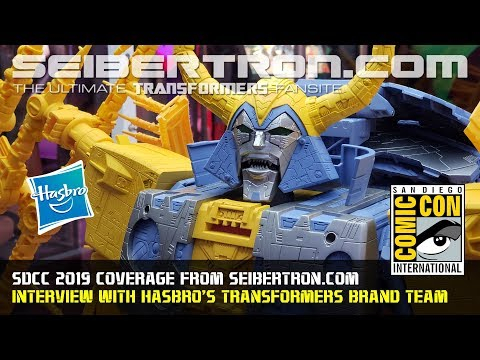 Interview with Hasbro's Transformers Brand Team at SDCC 2019