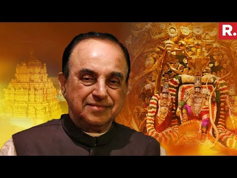 Dr. Subramanian Swamy Speaks On Tirupati Controversy | Republic TV EXCLUSIVE