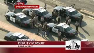 Southern California Police Pursuit - July 5, 2013 (alternate broadcast)