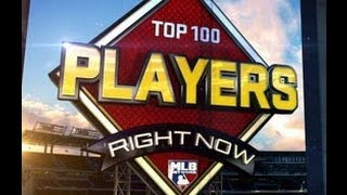 MLB Top 100 Players 2013 (60-41)
