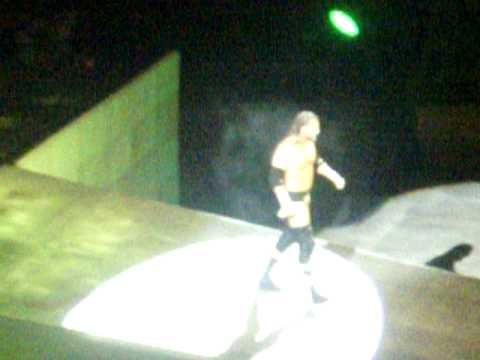 Triple H Entrance into the Las Vegas Thomas And Mack Center