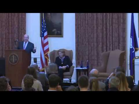 Heitkamp Speaks at Bob Abrams Lecture at New York University School of Law