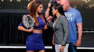 UFC 200: Miesha Tate vs. Amanda Nunes Staredown