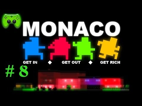 MONACO # 8 - Kleinste Fehler «»  Let's Play Monaco   HD
