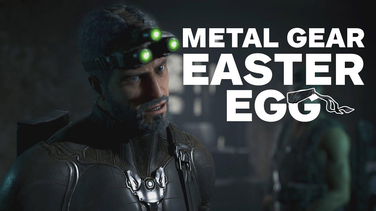 Ghost Recon Wildlands: Splinter Cell + Metal Gear Solid Easter Egg