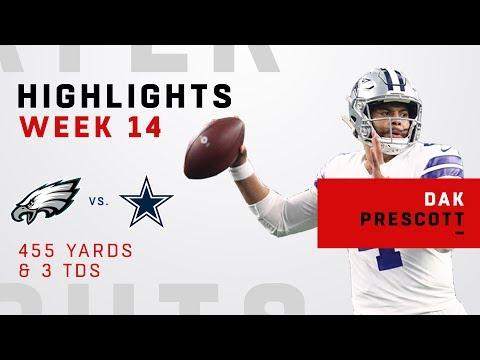 Dak Prescott's HUGE Game w/ 455 Yards & 3 TDs vs. Eagles