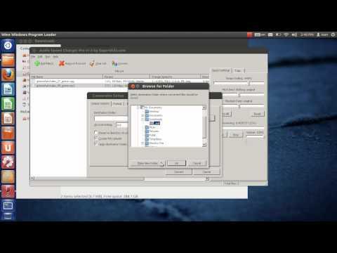 Audio Converter + Sound Speed Changer for Windows, Working on Ubuntu Linux + Wine