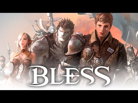 Bless (블레스) - Character Creation - Classes and Races - CBT2 - KR