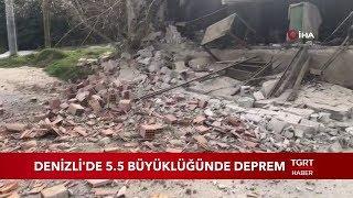 denizli 39 de 5 5 Şiddetinde deprem