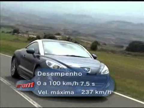 VRUM Conhe a o Peugeot RCZ
