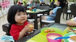 [2019-08-26] Penang Trip 2019 - Golden Sands Resort breakfast
