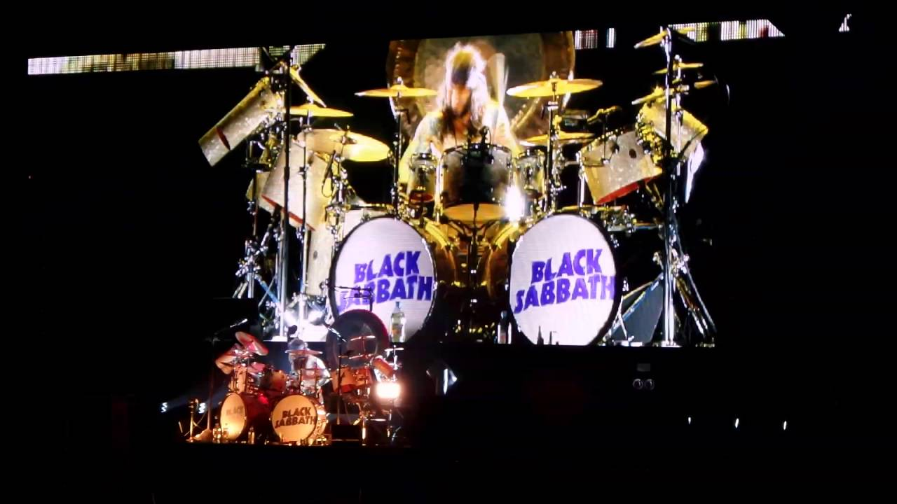 black sabbath the end tour drumsolo and iron man zurich 15 youtube. Black Bedroom Furniture Sets. Home Design Ideas