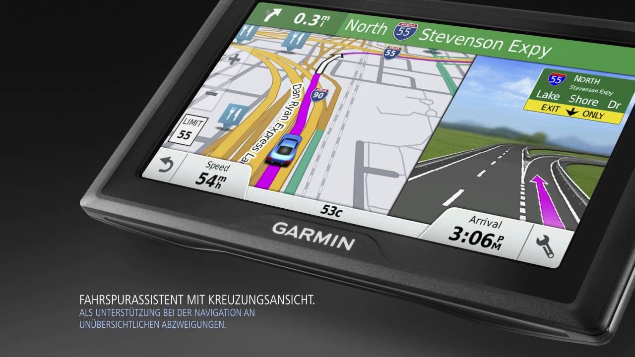 garmin drive gps navi mit fahrerassistenzfunktionen youtube. Black Bedroom Furniture Sets. Home Design Ideas