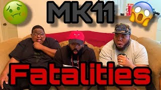 Mortal Kombat 11 All Fatalities - All Characters (REACTION)