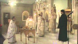 Αρτοκλασία - Blessing of the loaves - Annunication Greek Orthodox Church, Dover, NH