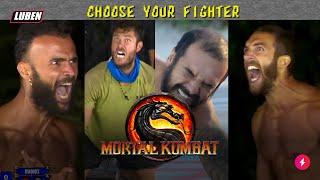 Survivor Mortal Kombat edition: ΤΙ ΚΑΝΕΙΣ ΡΕΕΕΕ; ΠΟΝΑΩ! | Luben TV