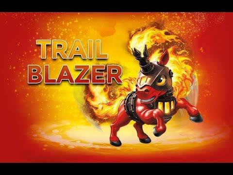 skylanders trap team trail blazer gameplay