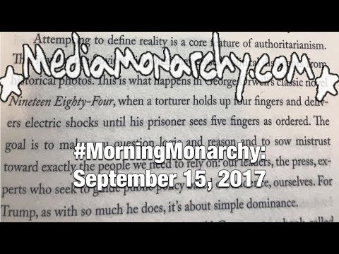 Bizarre Misreadings & Banned Books on #MorningMonarchy: #September15, 2017