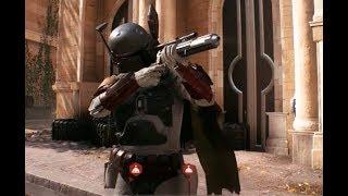 Star Wars Battlefront 2 Beta Galactic Assault 16 Boba Fett Gameplay