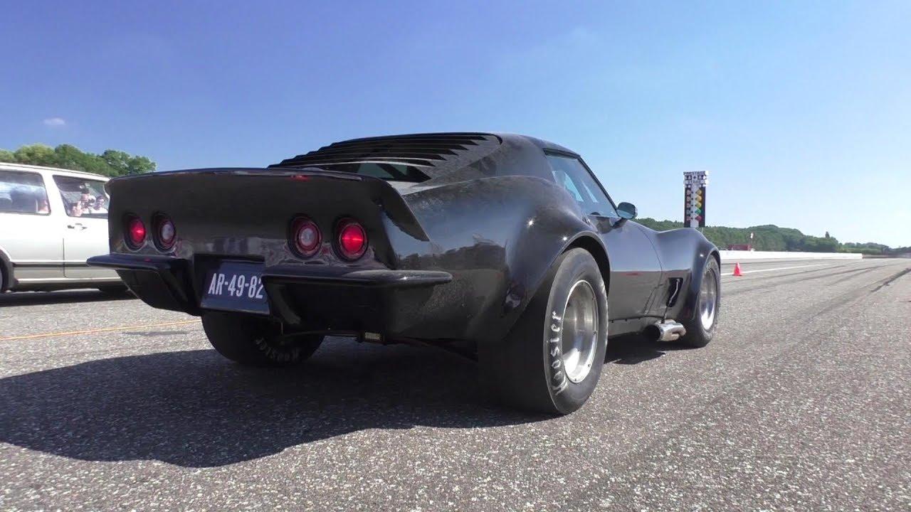 Dragrace 900Hp Corvette C3 W 9 85L Big Block Vs Lamborghini Murcielago Vs Nissan Skyline