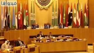 بالفيديو : بدء الدورة الثامنة للمجلس الوزارى العربى للمياه