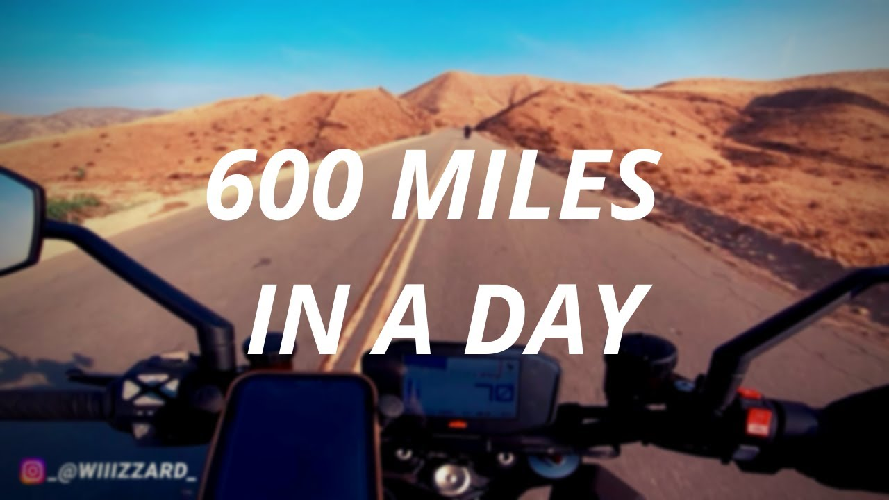Download 600 MILES IN 15 HOURS ON A MOTORCYCLE - KTM SUPERDUKE 1290 ~ wiiizzard