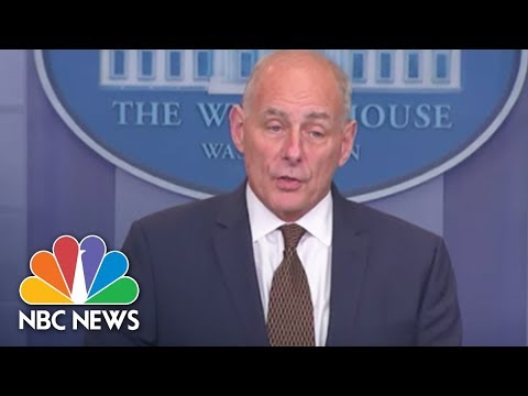White House Chief Of Staff Gen. John Kelly: 'I'm Not Quitting Today' | NBC News