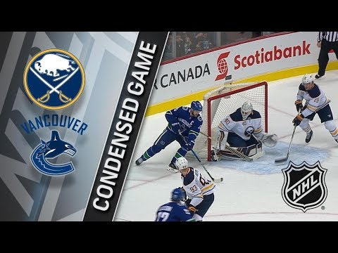 Buffalo Sabres vs Vancouver Canucks – Jan. 25, 2018 | Game Highlights | NHL 2017/18 Обзор