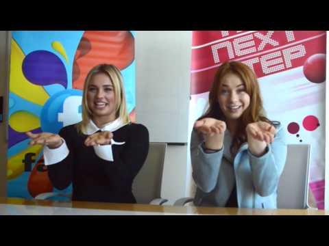 Victoria Baldesarra & Shelby Bain Teach Us A Signature Dance Move!; The Next Step