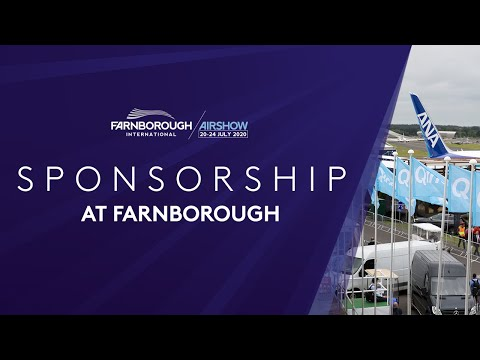 Sponsorship at the Farnborough International Airshow 2020