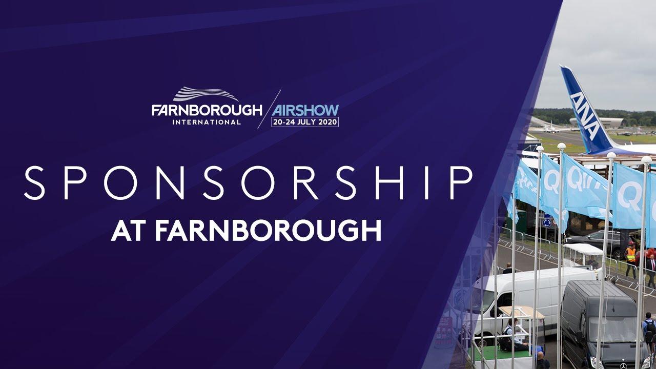 Sponsorship at the Farnborough International Airshow 2020