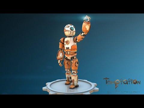 CGI 3D Modeling Reel - Desert Scavenger Robot