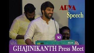 """GHAJINIKANTH Is A Complete Family Entertainer"", Assures ARYA | Sayyeshaa | Santhosh P Jayakumar"