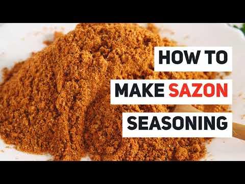 �� Sazon Seasoning Recipe (MSG-free, gluten-free, filler ingredient free, and salt and sugar-free._