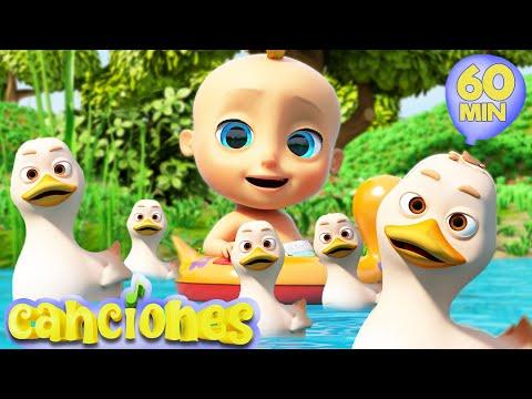 LooLoo – Cinco Patitos – Cantece pentru copii in limba spaniola