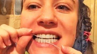 Здоровые зубы: чистка зубов в домашних условиях и уход за полостью рта
