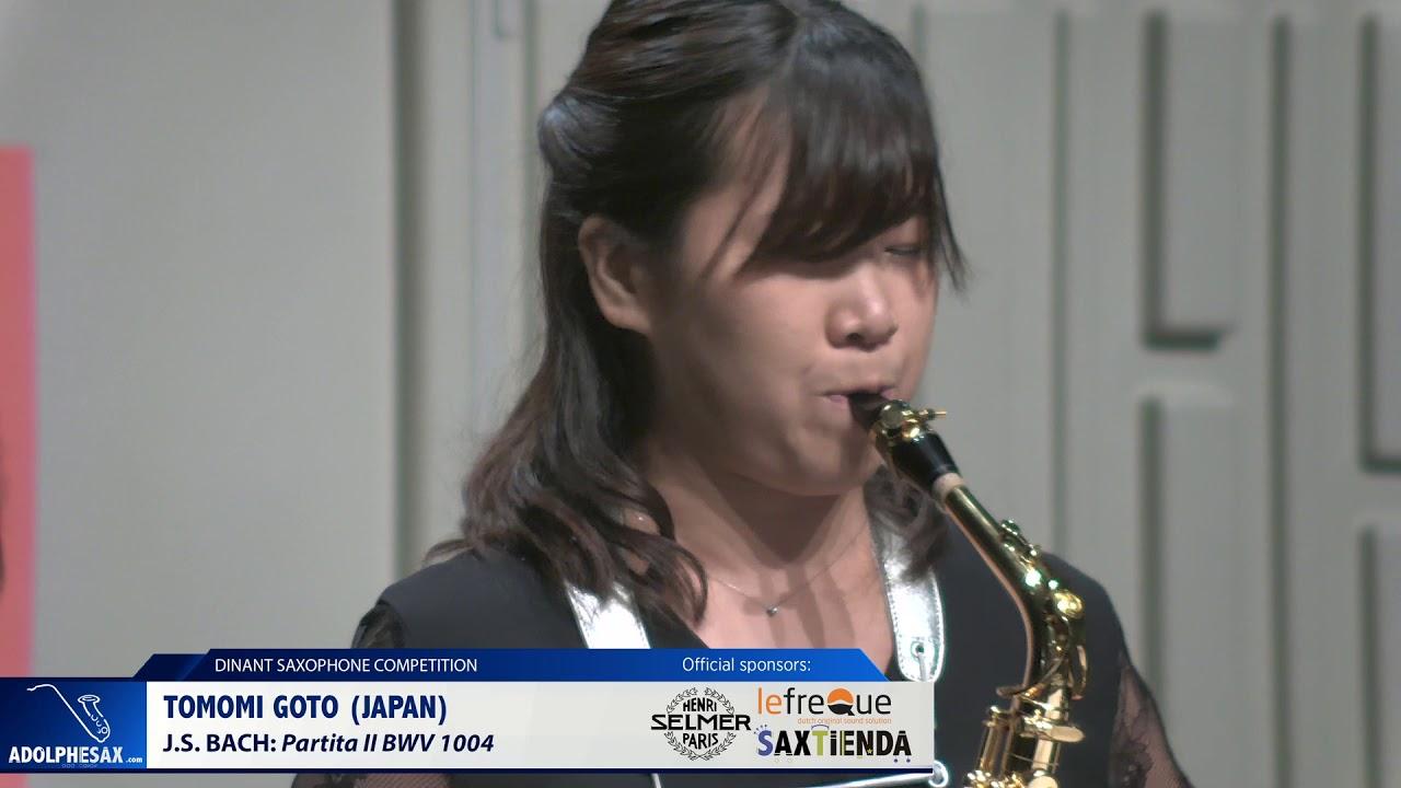 Tomomi Goto (Japan) - Partita II by J S Bach (Dinant 2019)