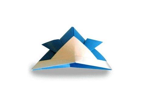 Hướng dẫn cách gấp mũ, nón samurai bằng giấy - Xếp hình Origami - How to make a Samurai hat