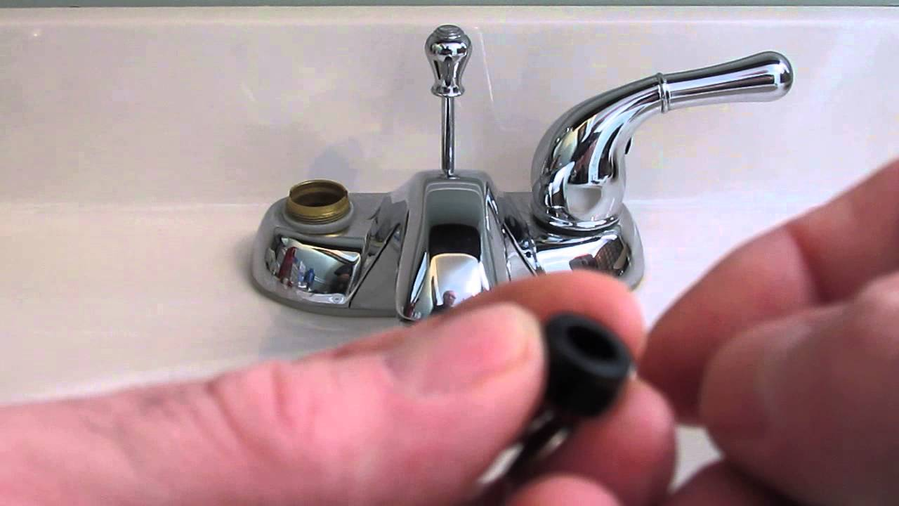 repair leaky set a faucet plumbing to how faucets bathroom moen youtube handle easiest replacement of washerless tips watch