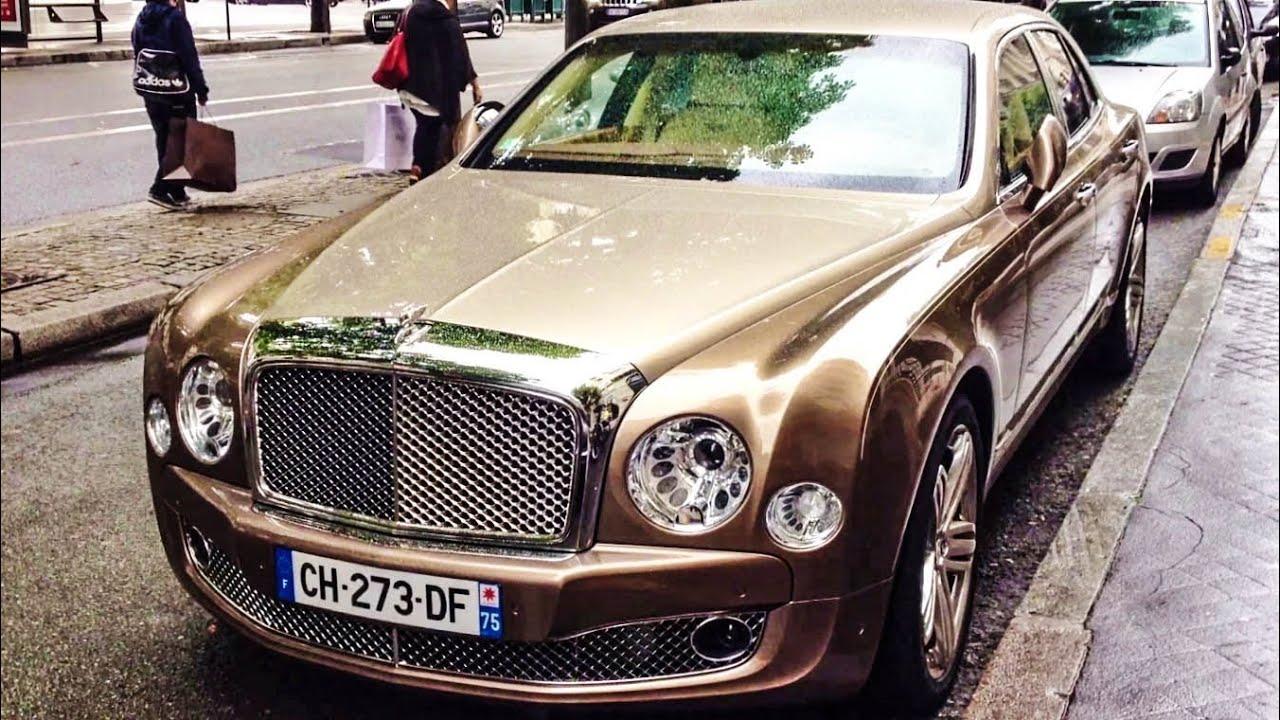 Stunning Gold/Brown Bentley Mulsanne - YouTube