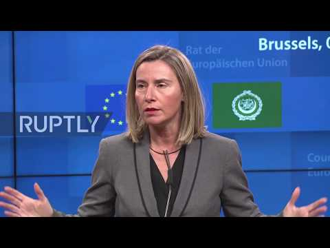 Belgium: Mogherini hails '95 percent' common ground with Arab League