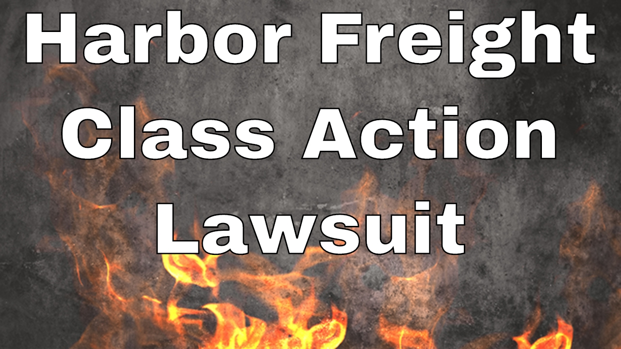 Harbor Freight Class Action Lawsuit! (Get up to 30% back!) - YouTube